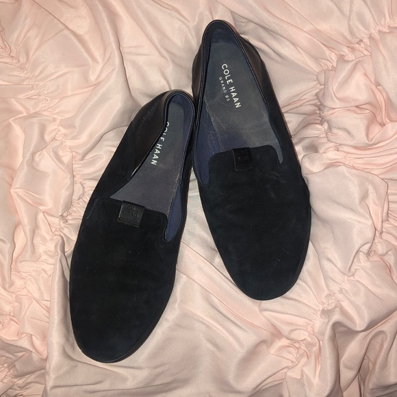 Cole Haan Shoes - Cole Haan Comfy Black Suede Shoes